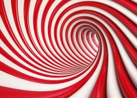 Home wall wallpapers in red and white | Online store